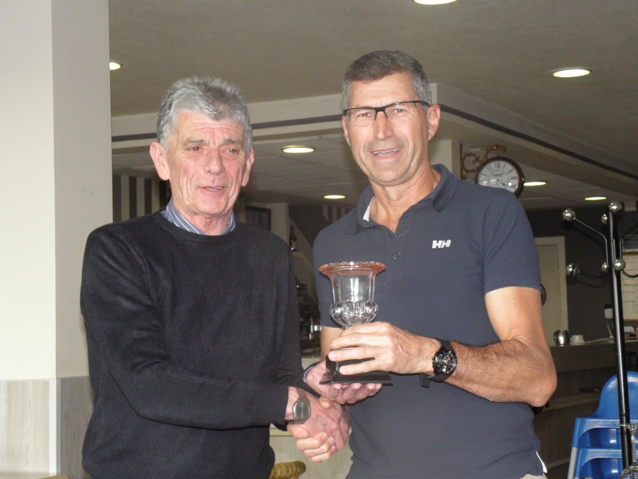 Luis María Garcia. subcampeón de 2ª categoría