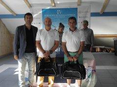 Fco. Javier Gómez y Juanjo Zubieta, ganadores scratch del Desafío Fundación Seve Ballesteros