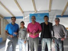 Eduardo y Sergio de la Hoz, vencedores del Desafio Fundacion Seve  Ballesteros