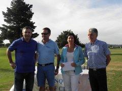 Teresa Aizpuru y Antonio Ruiz, vencedores hándicap del torneo de la S.D. de Remo Pedreña