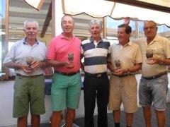Noe Bedia y Miguel Posada vencen en el VII Puntuable Seniors y Damas torneo El Diario Montañés