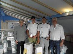 """Lucas y Asís Herrerías, vencedores del torneo """"Ventanas Arsan"""" Gran Premio La Junquera"""