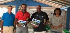 Eduardo de la Hoz y David Guevara, vencedores del torneo Solidario ONG Milpa