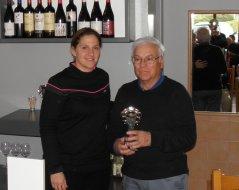 Gil Ulloa, vencedor de 1ª categoría del I Puntuable Seniors y Damas,