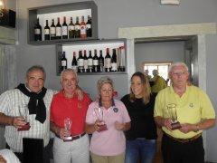 José Manuel Jiménez y Emilio Antuñano, vencen en el VIII Puntuable Seniors y Damas, torneo Restaurante el Madroñal