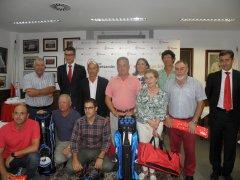 Celebrado con éxito el acto de entrega de premios del Open de Otoño del Club Bansander