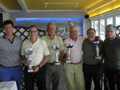Fco. Javier Espinosa y Juan José Nazabal, vencedores de 5º puntuable seniors/damas