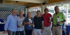 Jesús Angel Sierra y José Luis Portilla, vencedores del VI puntuable seniors damas 2018 de La Junquera, trofeo Lara Norte