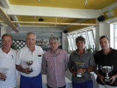 Juan Angel Valdés y Jesús Riva, vencedores del VIII puntuable ranking Seniors y Damas, torneo Pretium Golf La Junquera