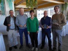 Jesús Güemes y Tomás Alberdi, vencedores del 1er. puntuable seniors y damas 2019